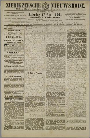 Zierikzeesche Nieuwsbode 1901-04-27