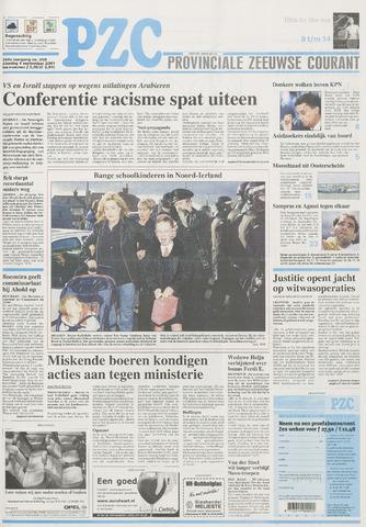 Provinciale Zeeuwse Courant 2001-09-04