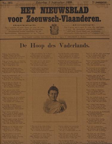 Nieuwsblad voor Zeeuwsch-Vlaanderen 1898-09-03