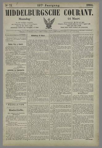Middelburgsche Courant 1884-03-24
