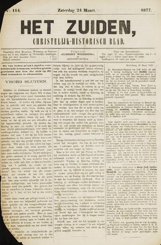 Het Zuiden, Christelijk-historisch blad 1877-03-24