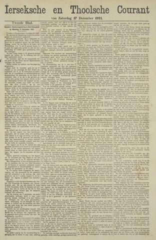 Ierseksche en Thoolsche Courant 1921-12-17