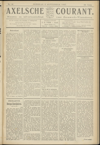 Axelsche Courant 1927-09-06