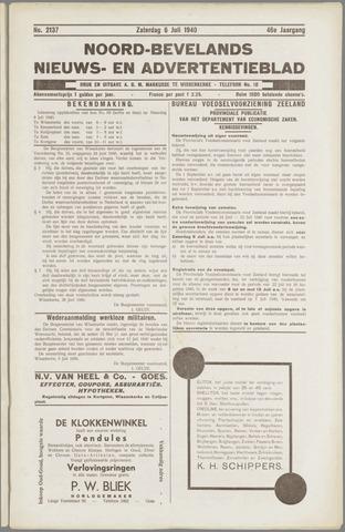 Noord-Bevelands Nieuws- en advertentieblad 1940-07-06