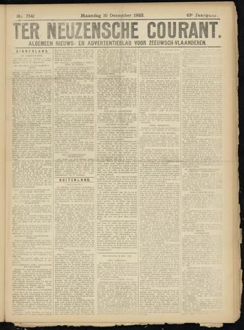 Ter Neuzensche Courant. Algemeen Nieuws- en Advertentieblad voor Zeeuwsch-Vlaanderen / Neuzensche Courant ... (idem) / (Algemeen) nieuws en advertentieblad voor Zeeuwsch-Vlaanderen 1923-12-10