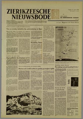 Zierikzeesche Nieuwsbode 1970-04-17