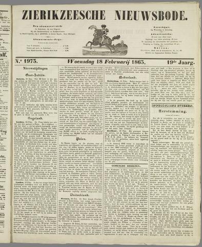 Zierikzeesche Nieuwsbode 1863-02-18