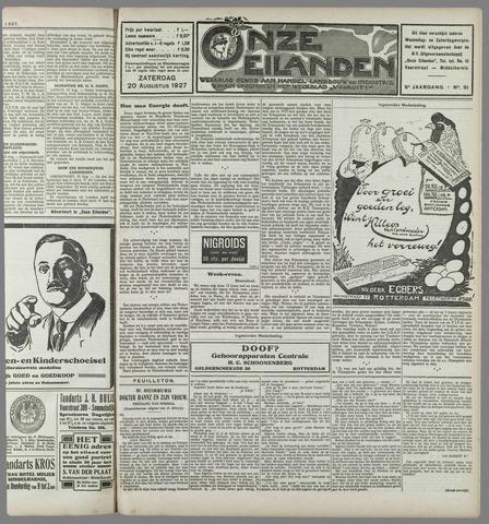 Onze Eilanden 1927-08-20