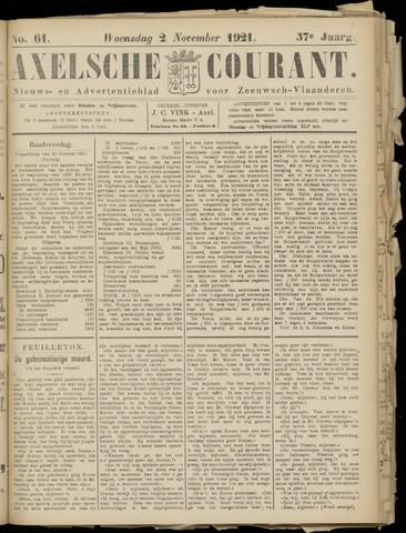 Axelsche Courant 1921-11-02