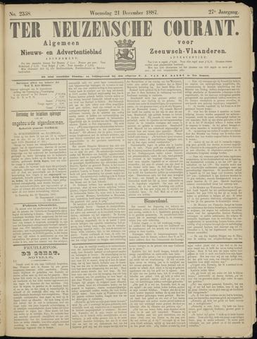 Ter Neuzensche Courant. Algemeen Nieuws- en Advertentieblad voor Zeeuwsch-Vlaanderen / Neuzensche Courant ... (idem) / (Algemeen) nieuws en advertentieblad voor Zeeuwsch-Vlaanderen 1887-12-21