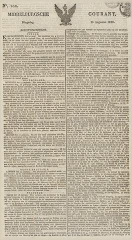 Middelburgsche Courant 1829-08-25
