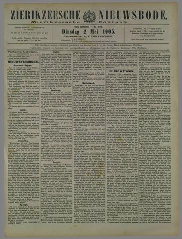 Zierikzeesche Nieuwsbode 1905-05-02