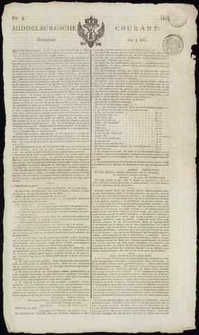 Middelburgsche Courant 1814-05-05