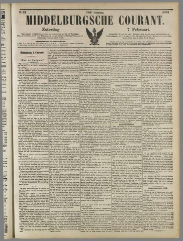 Middelburgsche Courant 1903-02-07