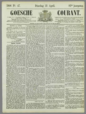 Goessche Courant 1896-04-21