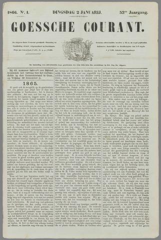 Goessche Courant 1866