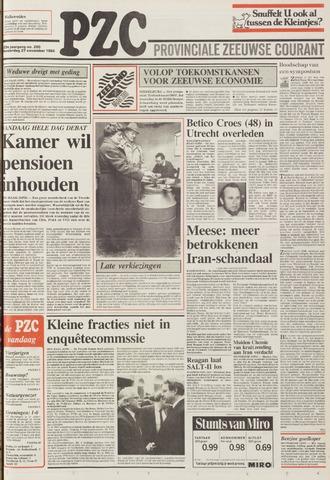 Provinciale Zeeuwse Courant 1986-11-27