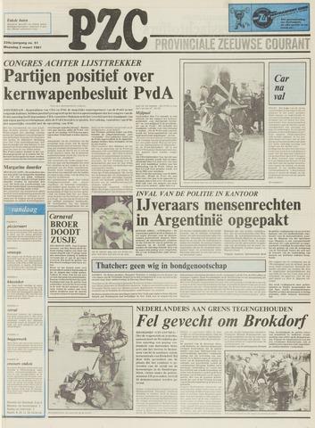Provinciale Zeeuwse Courant 1981-03-02