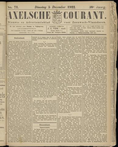 Axelsche Courant 1922-12-05