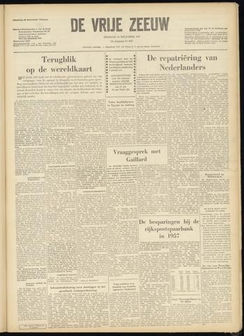 de Vrije Zeeuw 1957-12-31
