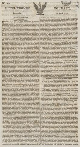Middelburgsche Courant 1829-04-30