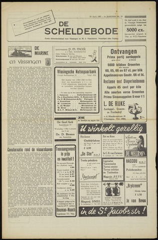 Scheldebode 1950-04-28
