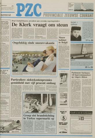Provinciale Zeeuwse Courant 1992-03-06