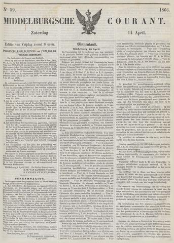 Middelburgsche Courant 1866-04-14