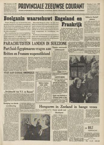Provinciale Zeeuwse Courant 1956-11-06