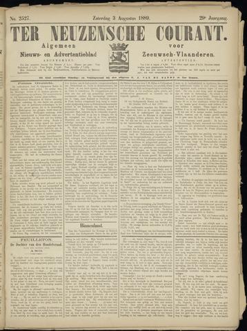 Ter Neuzensche Courant. Algemeen Nieuws- en Advertentieblad voor Zeeuwsch-Vlaanderen / Neuzensche Courant ... (idem) / (Algemeen) nieuws en advertentieblad voor Zeeuwsch-Vlaanderen 1889-08-03