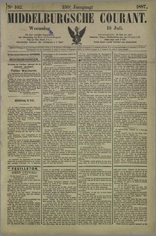 Middelburgsche Courant 1887-07-13
