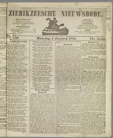 Zierikzeesche Nieuwsbode 1855-01-01