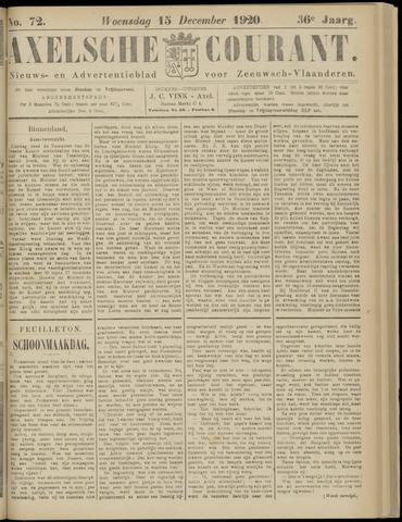 Axelsche Courant 1920-12-15