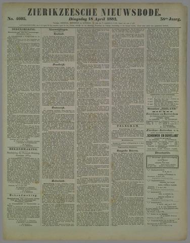 Zierikzeesche Nieuwsbode 1882-04-18