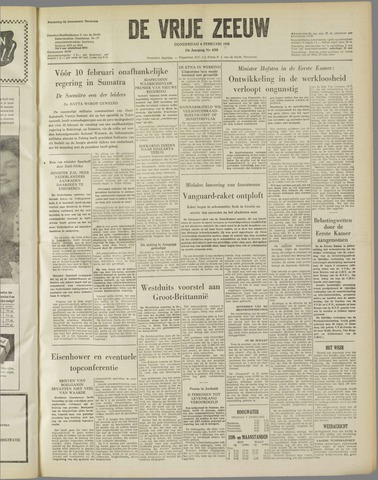 de Vrije Zeeuw 1958-02-06