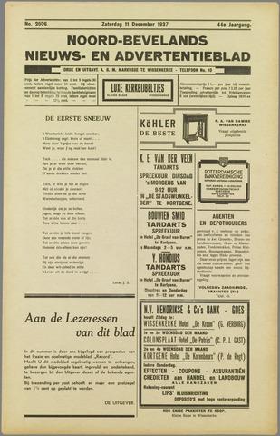 Noord-Bevelands Nieuws- en advertentieblad 1937-12-11