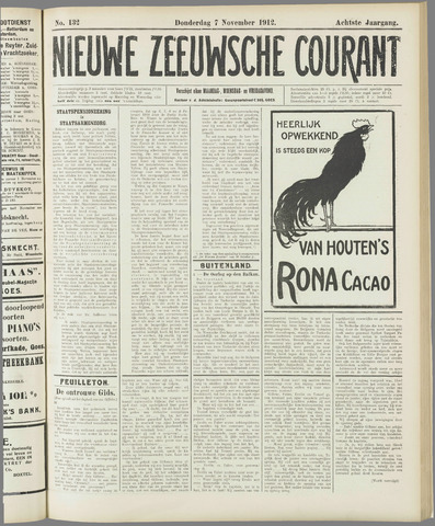 Nieuwe Zeeuwsche Courant 1912-11-07