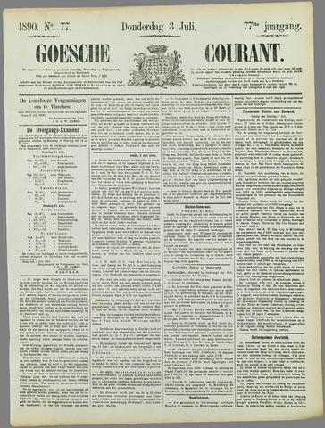 Goessche Courant 1890-07-03