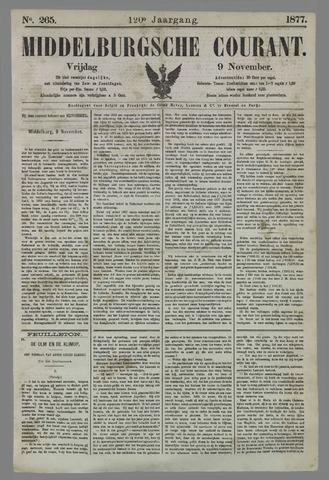 Middelburgsche Courant 1877-11-09