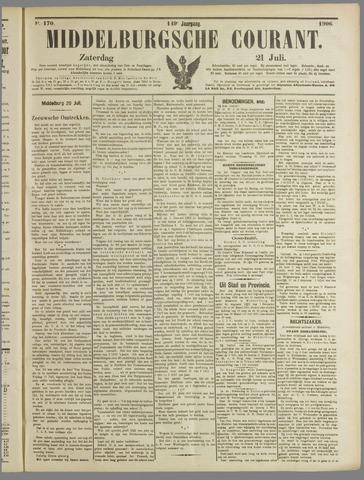 Middelburgsche Courant 1906-07-21