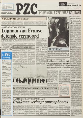 Provinciale Zeeuwse Courant 1985-01-26