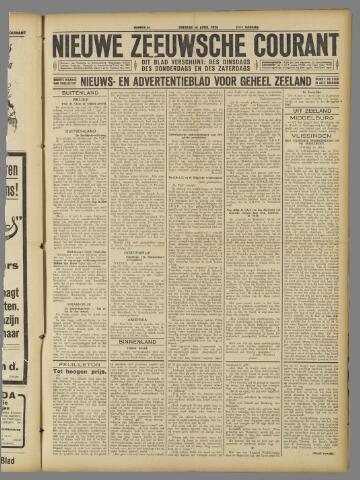 Nieuwe Zeeuwsche Courant 1925-04-14