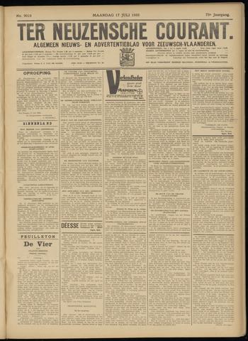 Ter Neuzensche Courant. Algemeen Nieuws- en Advertentieblad voor Zeeuwsch-Vlaanderen / Neuzensche Courant ... (idem) / (Algemeen) nieuws en advertentieblad voor Zeeuwsch-Vlaanderen 1933-07-17