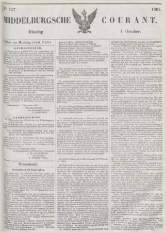 Middelburgsche Courant 1867-10-01