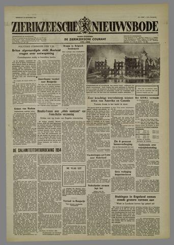 Zierikzeesche Nieuwsbode 1954-10-19