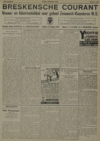 Breskensche Courant 1935-11-01