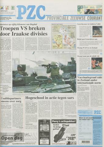 Provinciale Zeeuwse Courant 2003-04-03