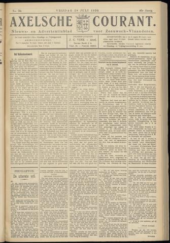 Axelsche Courant 1930-07-18