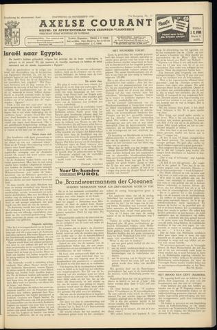 Axelsche Courant 1956-11-10