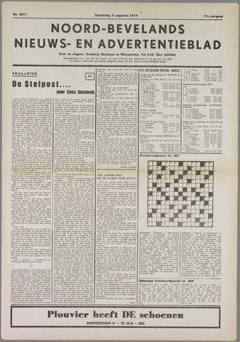 Noord-Bevelands Nieuws- en advertentieblad 1974-08-08